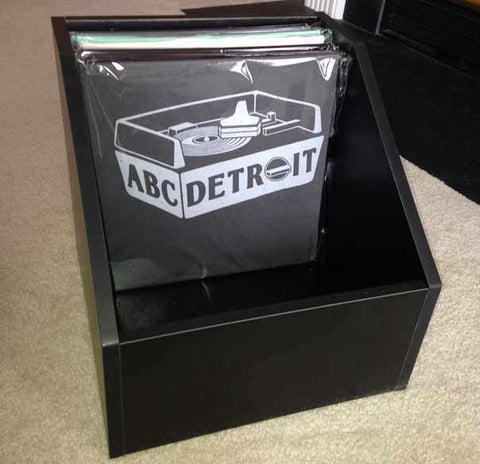 ABCDETROIT Shirt in Vinyl Record Packaging, I Club Detroit
