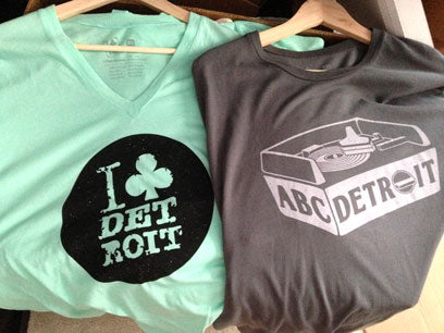 Techno T-shirts, I Club Detroit