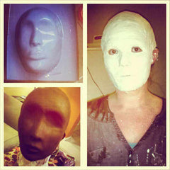 DIY Crash Test Dummy Mask