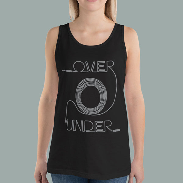 Sound Girl Over Under Method Cable Coil Unisex Tabk Top | I Club Detroit
