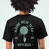 Maybe NeXt Year Witch's Finger Spinning Disco Ball Back Print Shirt | I Club Detroit