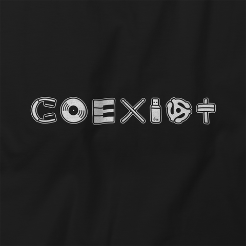 COEXIST Music T-Shirt Unisex