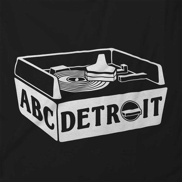 ABC DETROIT Turntable Shirt Design | I Club Detroit