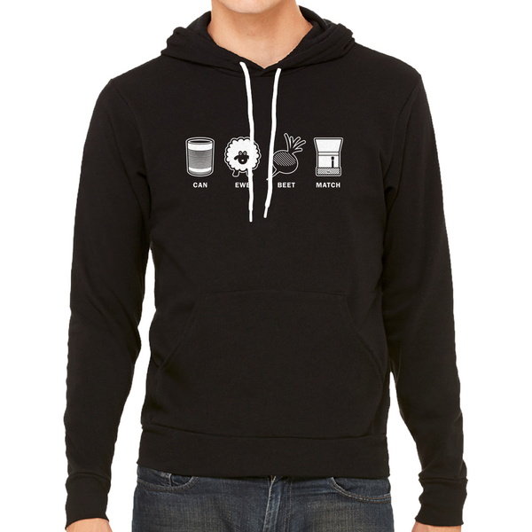 Beat Match Vinyl DJ Detroit Techno Unisex Hoodie | I Club Detroit