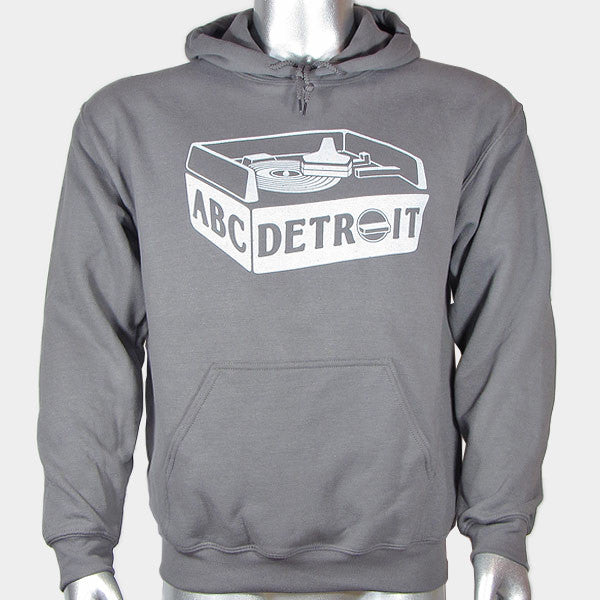 ABCDETROIT_Turntable_Hoodie_Front | I Club Detroit