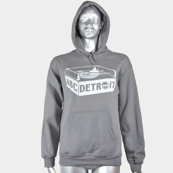 ABCDETROIT_Truntable_Hoodie_Womens | I Club Detroit