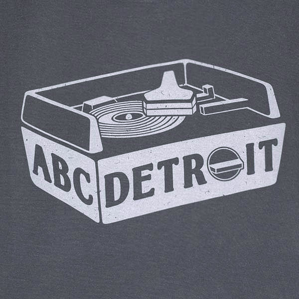 ABCDETROIT Detroit T-Shirt I Club Detroit Techno