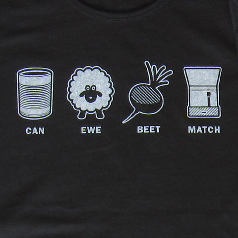 Can Ewe Beet Match (Crew Neck)