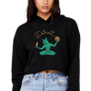 Cat Spirit of Detroit Women's Crop Hoodie | I Club Detroit