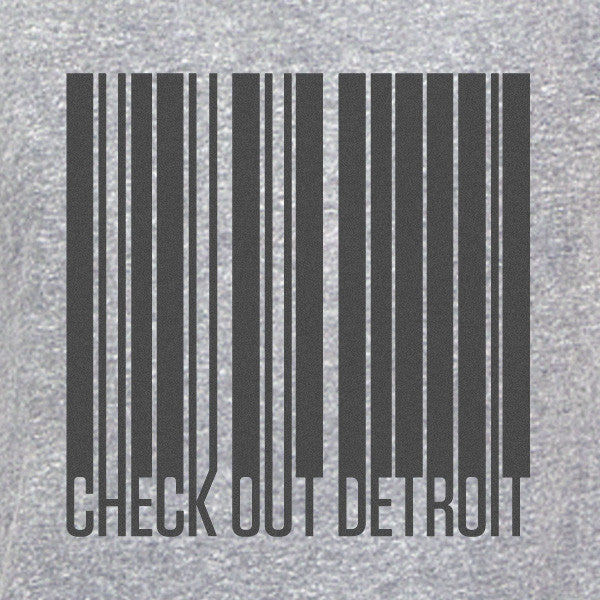 Check Out Detroit Barcode Design