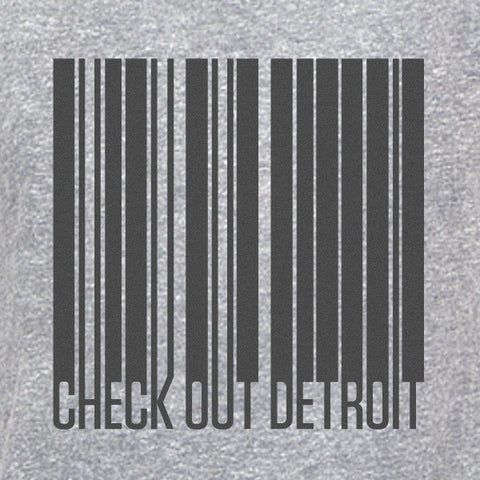 Check Out Detroit Barcode T-Shirt