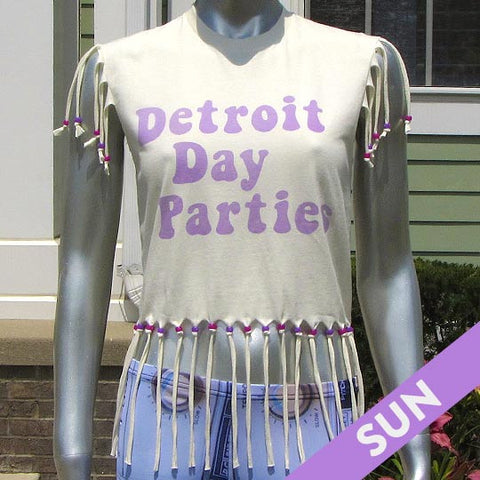 Detroit Day Parties Solar Reactive T-Shirt