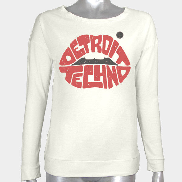 Detroit Techno Women's Fleece Shirt