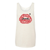 Detroit Techno Lips Unisex Tank Top Cream | I Club Detroit