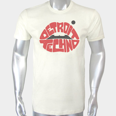 Detroit Techno Lips Tee
