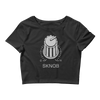 Techno Snob SKNOB Women's Crop Top Tee