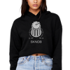 SKNOB Techno Snob Women's Crop Hoodie | I Club Detroit