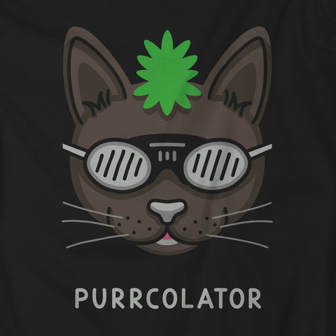 Percolator / Purrcolator Techno DJ Cat Unisex T-Shirt