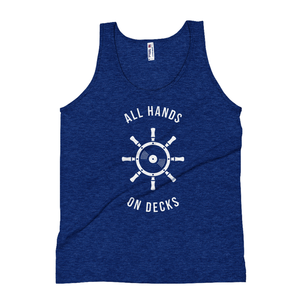 All Hands on Decks Boat Party Unisex Tank Top | I Club Detroit