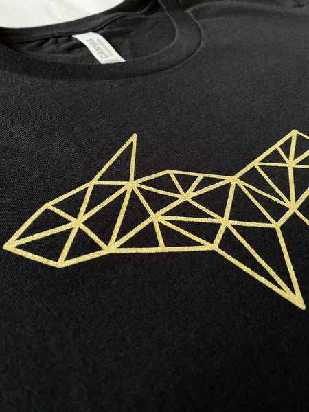 Wireframe Polygonal Michigan Unisex T-Shirt