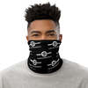 Chicago Onewheel Neck Gaiter Black and White