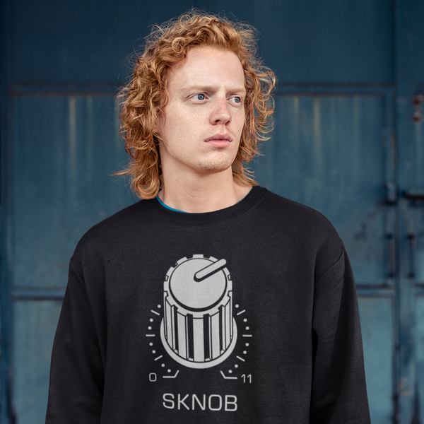 Techno Snob SKNOB Goes to 11 Sweatshirt | I Club Detroit