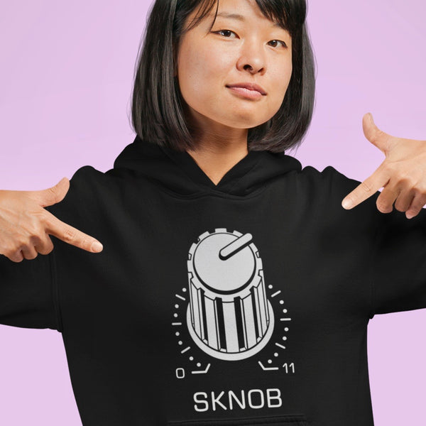 SKNOB Techno Snob Goes to 11 Spinal Tap Hoodie | I Club Detroit