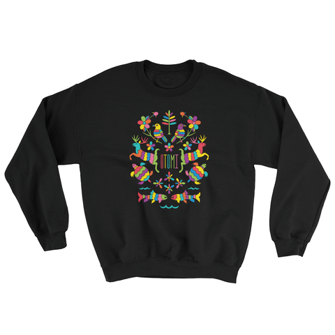 Mexican Otomi Michigan Sweatshirt Unisex
