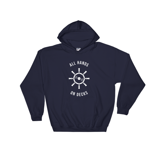 Boat Party Hooded Sweatshirt Unisex
