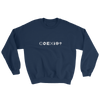 COEXIST Techno Music Sweatshirt Blue | I Club Detroit