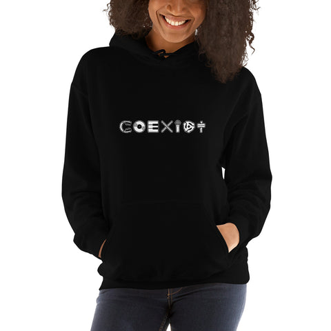 COEXIST Music Hoodie with Microphone Unisex
