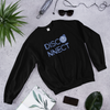 Disco Ball Disconnect Black Unisex Sweatshirt | I Club Detroit