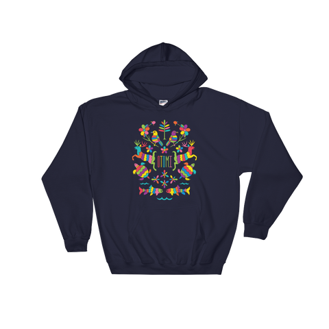 Mexican Otomi Michigan Hoodie Unisex