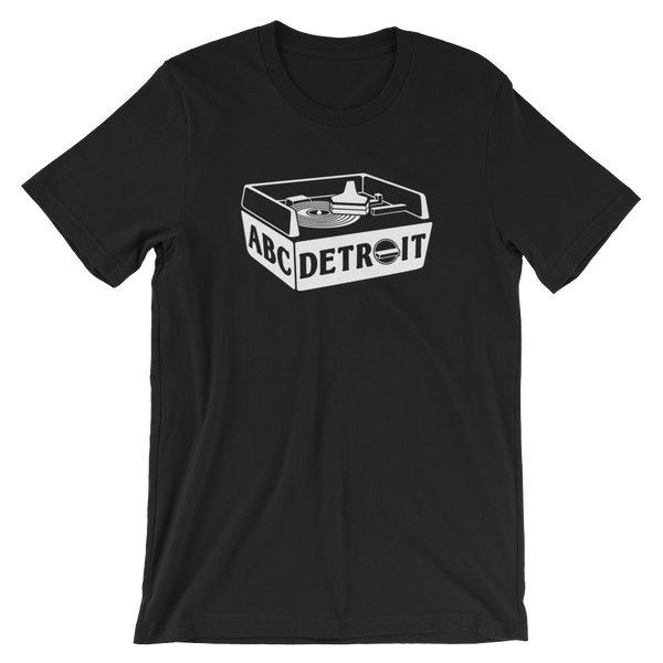ABCDETROIT Turntable Unisex T-Shirt