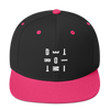 DETROIT MI Embroidered SnapBack Hat Pink | I Club Detroit