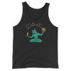 Cat Spirit of Detroit Unisex Tank Top | I Club Detroit
