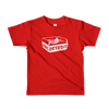 ABCDETROIT Kids T-Shirt Red | I Club Detroit