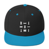 DETROIT MI Embroidered SnapBack Hat Blue | I Club Detroit