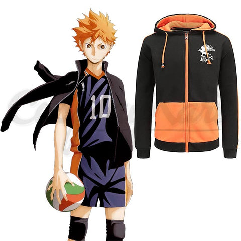 Hinata Cosplay - High School Volleyball Costume (Jacket)
