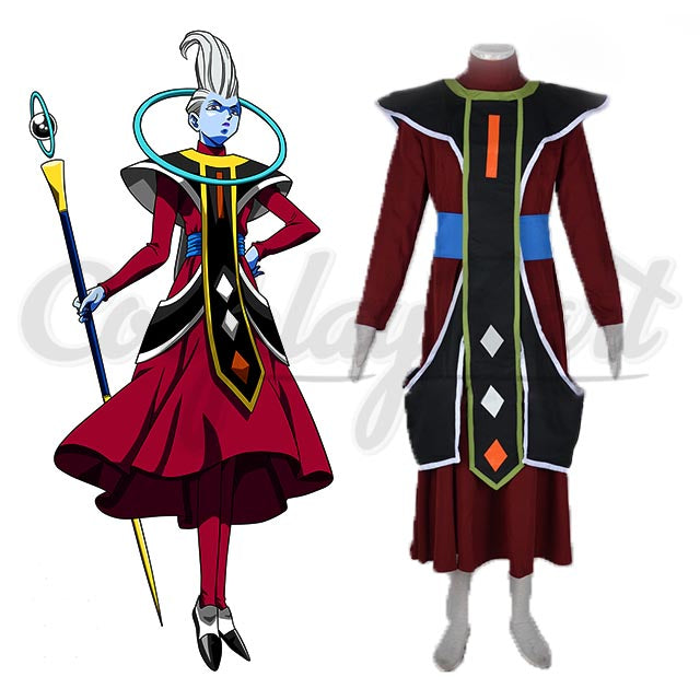 Dragonball S Dragon Ball Super God Attendant Whis Outfit Cosplay Costume Custom