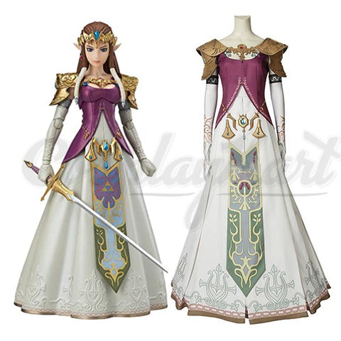 Zelda Cosplay - Twilight Princess costume Fancy Dress Outfit Cosutme