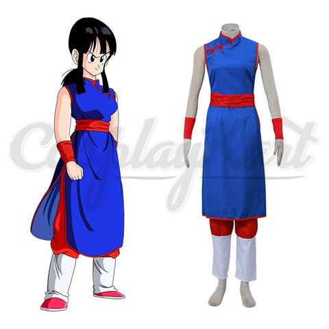 Dragon Ball Z Costume -  Hight Quality Chi Chi Uniform, Perfect Costume