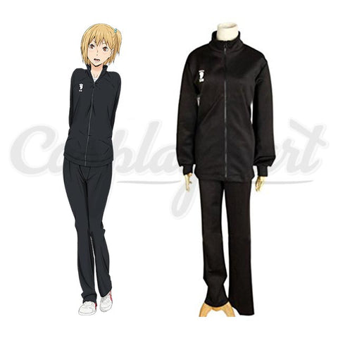 Hinata Cosplay - High School Volleyball Black Sportswear Uniform Costume