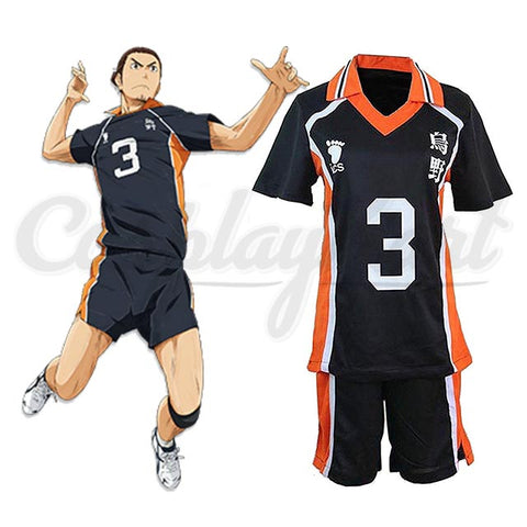 Hinata Cosplay - High School Costume Sportswear T-Shirt