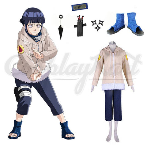 Hinata Cosplay - Naruto Hoodies Sweatshirts Cosplay Halloween Girl Woman Party Costume