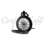 Black Butler Props - Panthomhive Sebastian Retro Necklace Pocket Watch Fashion Quartz
