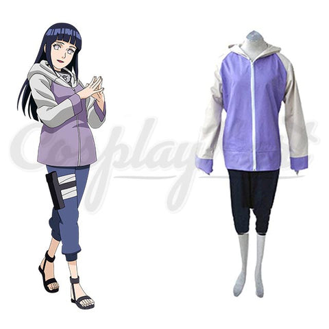 Hinata Cosplay - Full Combo Costume Girls Sportwear (Jacket & Pants)