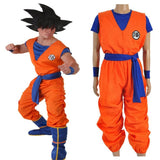 Dragon Ball Z Costume - Son Goku Costumes Uniforms High Quality Clothings for Adult