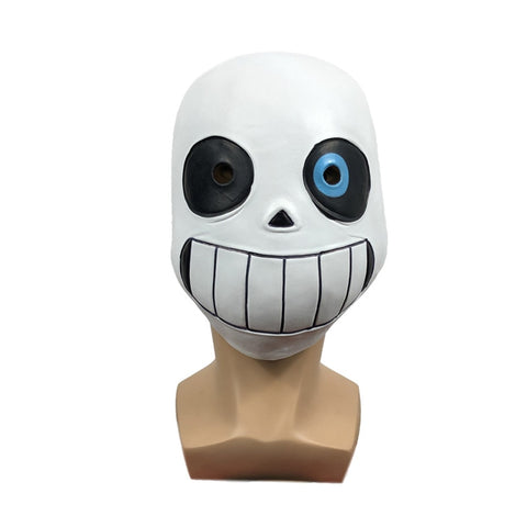 Skull Kid Mask - Funny Kid Cool Skeleton Sans Latex Mask Undertale Cosplay Headgear Boy Girl Carnival Costume
