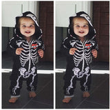 Skull Kid Cosplay - 2020 Newborn Infant Baby Boys Children Skull Costume